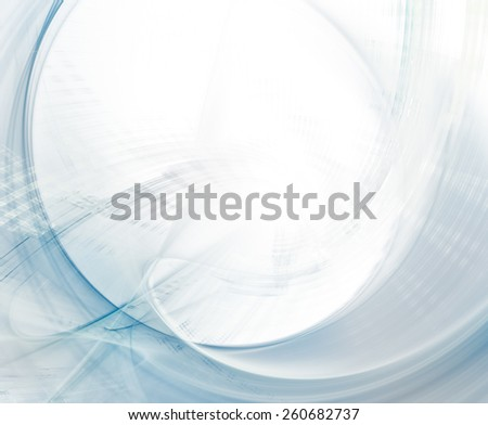 Abstract white and blue background - stock photo