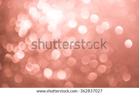 Abstract white and pink holiday twinkled bright background with natural bokeh defocused lights. Festive background. - stock photo