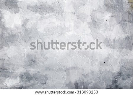 Abstract white background grunge texture, pattern wall - stock photo