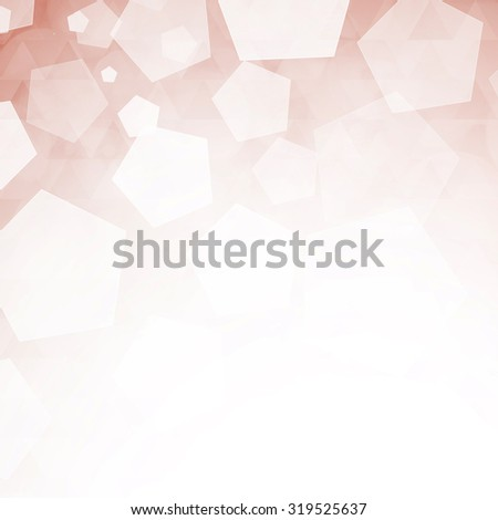 Abstract winter background - stock photo