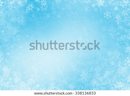 Abstract Winter Background Texture - stock photo
