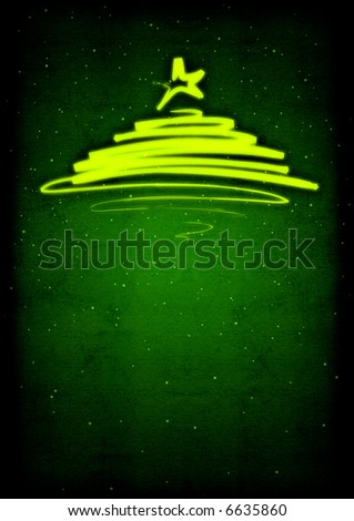 Abstract XMAS - stock photo