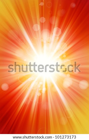 Abstract yellow and orange tone background - stock photo