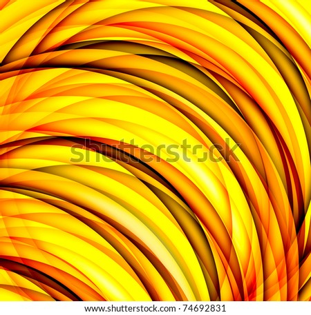Abstract yellow background - stock photo