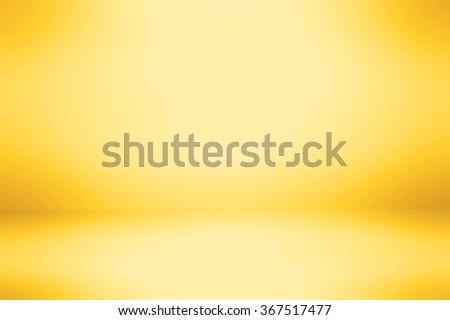 Abstract yellow color background - stock photo