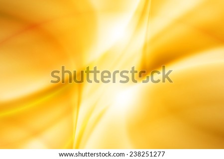 abstract yellow color curve background - stock photo