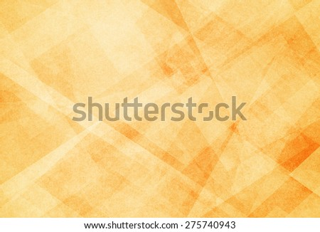 abstract yellow gold background with white triangle pattern - stock photo