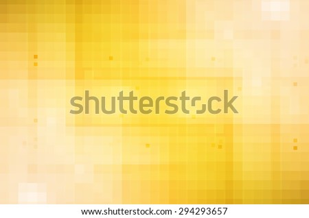 abstract yellow hi-tech background - stock photo