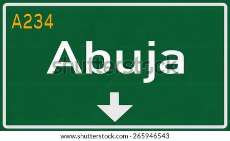 Road Signs in Nigeria Abuja Nigeria Highway Road