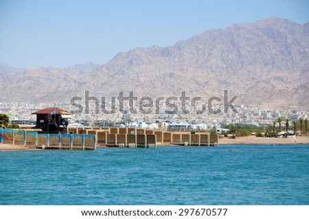 Accaba, Jordan - stock photo