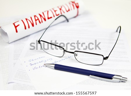 Acceptance, sign agreement - stock photo