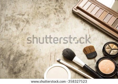 Accessory for make up - stock photo
