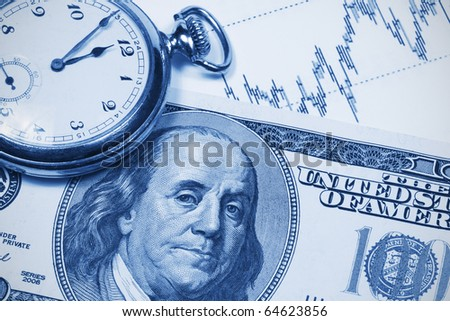 Accounting,dual tone - stock photo