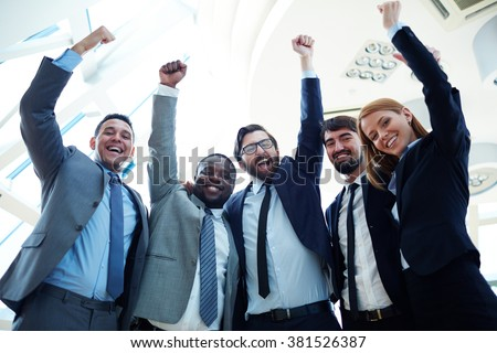 Achievers - stock photo