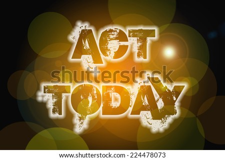 Action Changes Things concept text on background - stock photo