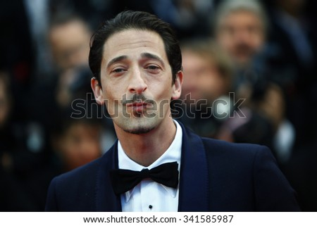 Actor Adrien Brody attends the Closing Ceremony and 'Therese Desqueyroux' premiere during the 65th Annual Cannes Film Festivalon May 27, 2012 in Cannes, France. - stock photo