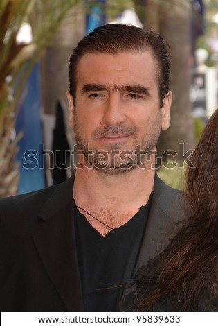 "Actor ERIC CANTONA at photocall for ""Le Deuxieme Souffle"" at the 59th Annual International Film Festival de Cannes. May 17, 2006  Cannes, France.  2006 Paul Smith / Featureflash - stock photo"