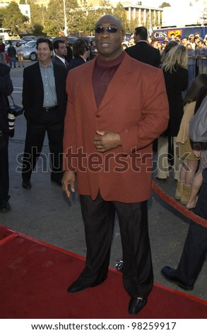 Actor MICHAEL CLARKE DUNCAN at the Los Angeles premiere of his new movie DareDevil. 09FEB2003.   Paul Smith / Featureflash - stock photo