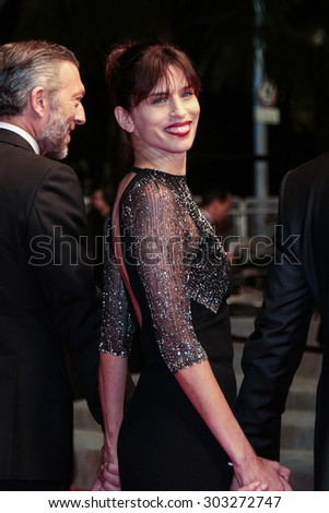 Actor Vincent Cassel, actress Emmanuelle Bercotattend 'Mon Roi' Premiere during the 68th annual Cannes Film Festival on May 17, 2015 in Cannes, France. - stock photo