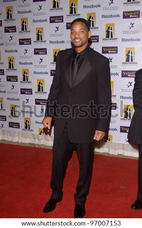 Actor WILL SMITH at the 8th Annual Hollywood Film Festival's Hollywood Awards at the Beverly Hills Hilton. October 18, 2004 - stock photo
