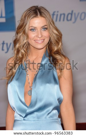 Actress CARMEN ELECTRA at General Motors Annual ten Event in Los Angeles. February 28, 2006  Los Angeles, CA.  2006 Paul Smith / Featureflash - stock photo