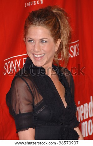 Actress JENNIFER ANISTON at the Los Angeles premiere of her new movie Friends with Money. March 27, 2006  Los Angeles, CA  2006 Paul Smith / Featureflash - stock photo