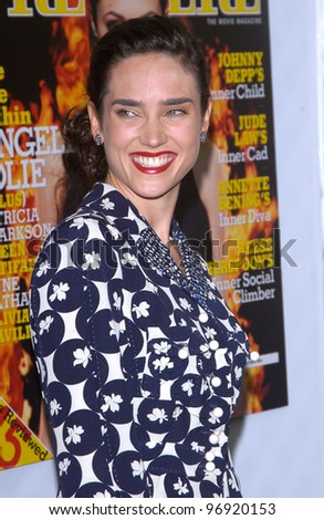 Actress JENNIFER CONNELLY at the Premiere magazine 11th Annual Women in Hollywood Luncheon at the Four Seasons Hotel, Beverly Hills. September 14, 2004 - stock photo