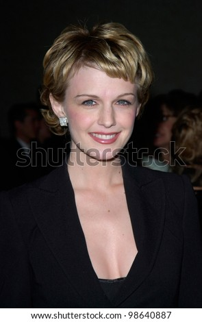 Actress KATHRYN MORRIS at the 51st Annual ACE Eddie Awards in Beverly Hills. 25FEB2001   Paul Smith/Featureflash - stock photo