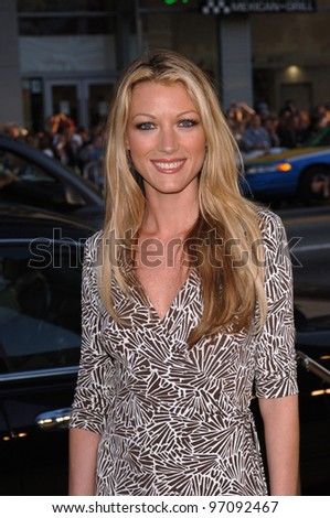 Actress NATALIE ZEA at the Los Angeles premiere of Sahara, at the Grauman's Chinese Theatre, Hollywood. April 04, 2005  Los Angeles, CA.  2005 Paul Smith / Featureflash - stock photo
