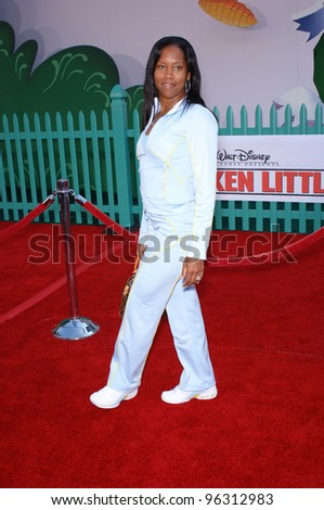 Actress REGINA KING at the world premiere of Walt Disney's Chicken Little at the El Capitan Theatre, Hollywood. October 30, 2005 Los Angeles, CA  2005 Paul Smith / Featureflash - stock photo