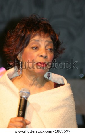 Actress Ruby Dee - stock photo