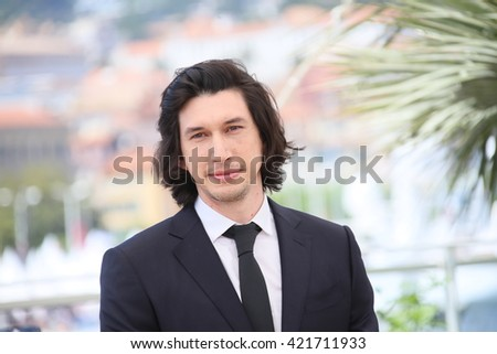 Adam Driver attends the 'Paterson' photocall during the 69th annual Cannes Film Festival at the Palais des Festivals on May 16, 2016 in Cannes, France. - stock photo