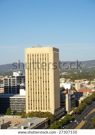Adelaide City - stock photo