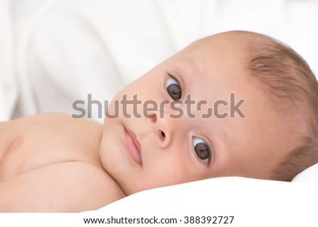 Adorable baby - stock photo