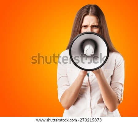 Adult, advertisement, announce. - stock photo