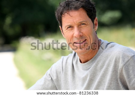 Adult male - stock photo