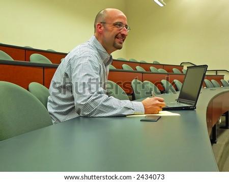 Adult Student - stock photo