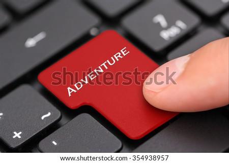 adventure - stock photo