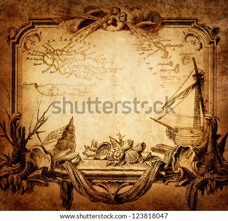 adventure stories background - stock photo