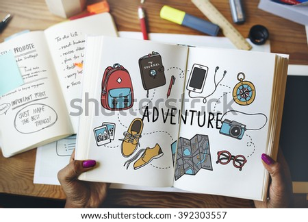 Adventure Travel Destinations Trip Holiday Concept - stock photo