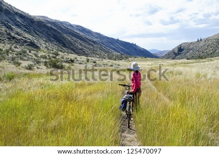 Adventure Valley Cycle - stock photo
