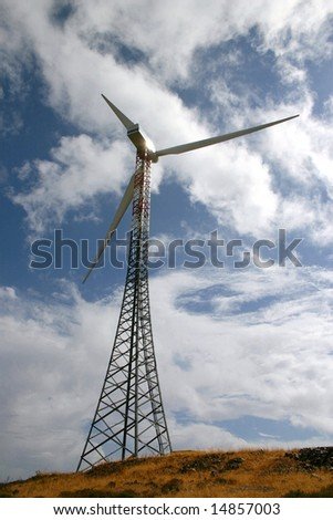 Aeolian blades - stock photo