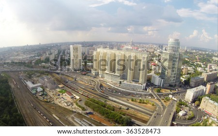 Aerial view of Khoroshyovsky District