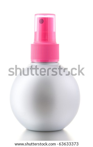 Aerosol Spray isolated on the white background - stock photo