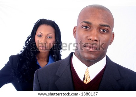 African American Business People - stock photo