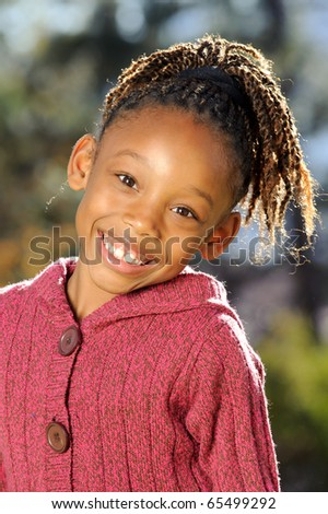 African American Child - stock photo
