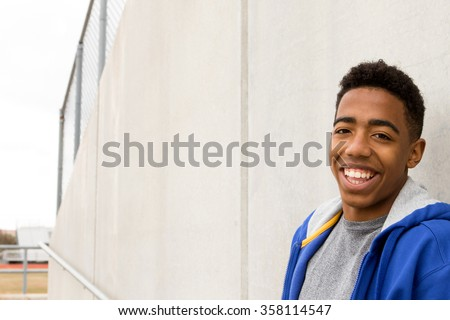 African American Teenager - stock photo