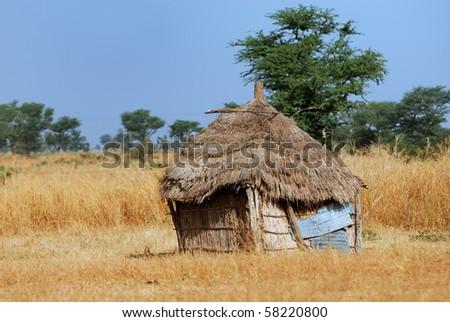 african lanndscape - stock photo