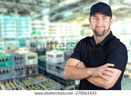 African, technician, black. - stock photo