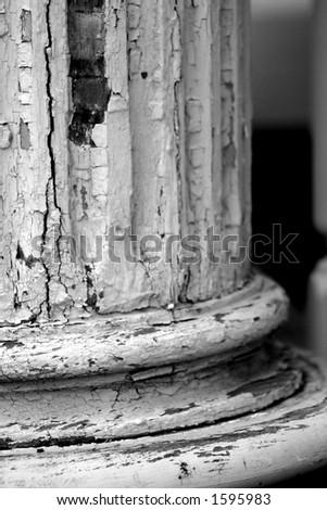 Aged Column - stock photo